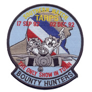 4.5 Navy Vf-2 F-14 Tomcat Bounty Hunters Southern Watch Embroidered Patch