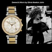 Ladies Chronograph Watch - Owned And Worn By Olivia Newton-john
