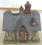 Home Interior-stillwater Cottage Candle House-thomas Kinkade -new In Box
