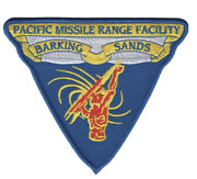 5.5 Navy Barking Sands Pacific Missile Range Facility Embroidered Patch