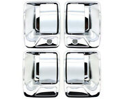New 2-hole Chrome Outside Door Handle Set / For 1999-2016 Ford Super Duty Truck