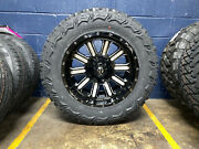 20x10 Fuel Hardline 35 Mt Wheels Rims Tires Package 8x170 Ford Excursion