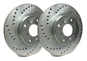 Sp Rear Rotors For 2005 Sierra 2500 Hd 4.63 Disc Center Hole | Drill C55-057-p8
