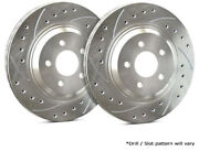 Sp Front Rotors For 2012 A5 Trw/girling Calipers | Drilled Slotted F01-499-p.744