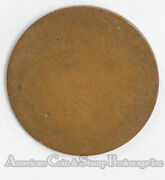 1920 Love Token Prep Reverse Smoothed To Be Engraved Silver On Lincoln Cent