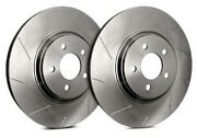 Sp Performance Front Rotors For 2001 Clk55 Amg | Slotted W/ Zinc T28-5059-p1438