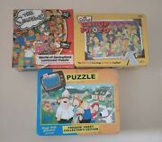 Simpsons Group Photo Card Game Simpsons 150 Pc Puzzle Family Guy 500 Pc Puzzle
