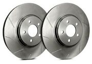 Sp Performance Rear Rotors For 2000 Grand Prix   Slotted W/ Zinc T55-039-p7120
