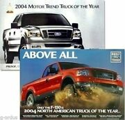 """New 2004 Ford F150 2 Sided Motor Trend Truck Of The Year Dealer 24""""x36"""" Poster"""