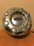 1 Oem 2011 Ford F350 Sd Rear Chrome Dually Center Cap Hubcap Used 3619