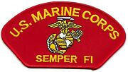 50 Pcs Us Marine Corps Semper Fi R Embroidered Patches 2.75x5.25 Iron-on
