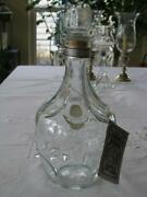 Jack Daniels Belle Of Lincoln Decanter / Bottle With Hang Tag