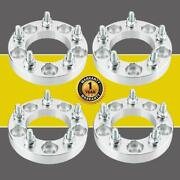 4pc 1 5x4.75 To 5x4.75 Wheel Spacers Adapters 87.1mm 12x1.5 For Chevrolet Gmc