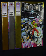 Deathmate Prologue Gold And Silver Sep Covers + Yellow Oct Image Valiant Comics