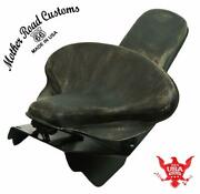 Harley Touring Spring Seat Conversion Mounting Kit 1998-2020 Blk D Leather Bcs