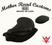 2014-21 Indian Chief Spring Leather Seat Mounting Conversion Kit Pad Blk Dist Bs