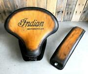 2015-2021 Indian Scout, Bobber Spring Tractor Seat 15x14 T Leather Mounting Kit