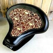 2015-2021 Indian Scout, Bobber Spring Tractor Seat 15x14 Leather Mounting Kit