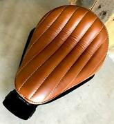 2010-2021 Harley Sportster Spring Seat Bates Styl Tuck Roll Leather Chopper