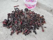 Ford 8n 8 N Tractor Ford Box Of Nuts Bolts Parts Pieces