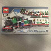 Lego Trains Christmas Holiday Train 10173 Rare Discontinued From Japan