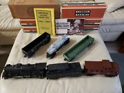 Vintage Lionel O-27 Electric Trains, 1940's To 1960's W/2037 Locomotive And Tender