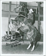 Gene Autry - Inscribed Photograph Signed 03/23/1990