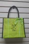 Sentimental Inspirational Tote Bag/bible Carrier Scripture Life Is A Gift