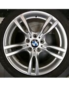 Bmw Oem F30 3 And 4-series 18 M-tec Wheels And Rf Tires Staggered Set 2014-17