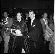 Donald Oand039connor Pier Angeli Original B/w 2.25 X 225 Photo Negative Contact Print