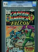 Captain America 184 Cgc 9.6 1975 Red Skull White Pages Only 7 Higher @ 9.8