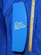 Dairy Queen Dq Rare Menu Board Sign Side Cool Treats Plastic Right Vtg Advert