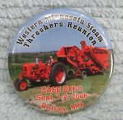 Case Expo 2006 Western Minnesota Steam Threshers Reunion Rollag Mn Pin Free S/h