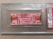 1951-52 2nd Annual Nba All Star Game/cousy Full/unused Ticket Psa 1/1 Unicorn