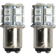 1157 Red Replacement Led Bulb Pair 15 Smd Leds Per Bulb For Brake Lights