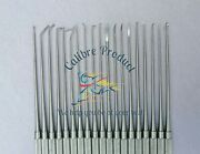 Neurosurgical Expanded Rhoton Micro Dissector Set Of 19 Surgical Instruments