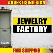 Jewelry Factory Banner Advertising Vinyl Sign Flag Shop Pawn Outlet Sale Diamond