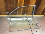 Mgb Gt 1965-72 - Rear Quarter Window Set - Clear Glass With Latches.  Mg3506