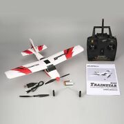 Mini Trainstar Remote Control Rc Airplane 6-axis Fixed Wing Drone Plane For Kids
