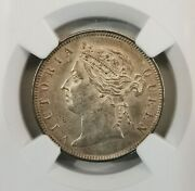 Ngc-ms61 1901 British Honduras 25cents Silver Low Mintage 20k Rare In Ms Grade