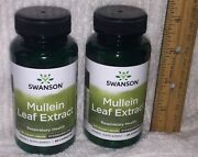 2 Mullein Leaf Extract From Swanson 120 Capsules Total