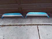 1960and039s 1970and039s Mopar Rear Fender Skirts Vintage Release Lever Missing On One