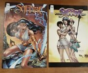 Image Comic, Saffire 1 1999. 1st Printing, 2 X Cover Variants Of Issue 1