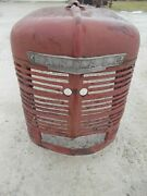 Farmall H Hv Tractor Straight Original Factory Ih H Front Nose Cone Grill