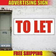 To Let Banner Advertising Vinyl Sign Flag Shop Buy Property Flats House Space