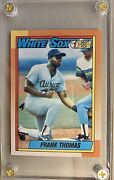 1990 Topps Frank Thomas Chicago White Sox 414 Baseball Card - Rookie Card.