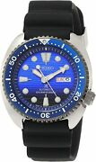 Seiko Prospex Divers Blue Turtle Save The Ocean Automatic Winding Blue Sbdy021