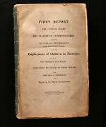 1833 Children In Factories First Report Of The Central Board District Commission