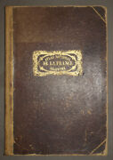 Atlas National Illustre Of France By Levasseur 1858 With The World Map