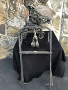 Rare F.e. Myers And Bro Cast Iron Sure Grip Hay Trolley Unloader And Hay Fork